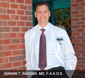 Dr. Baddar orthopedic doctor Hampton Roads