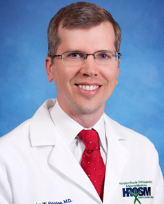 Dr. Aldridge Orthopedic surgeon Williamsburg VA