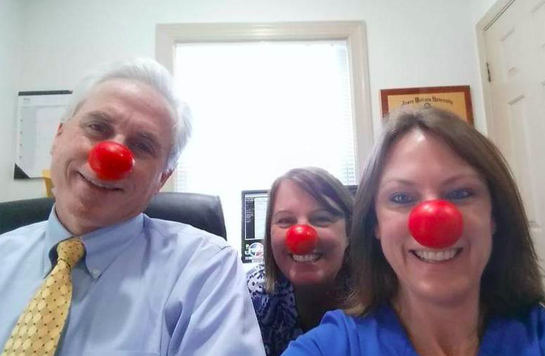 red nose day with dr. mcconnel