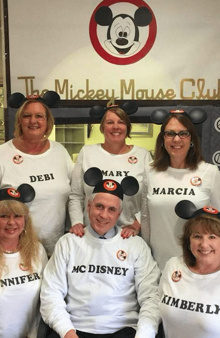 Dr. McConnell McDisney group shot