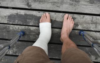 person with broken bone seeking orthopedic care Newport News va