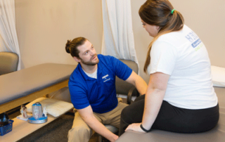 physical therapy at HROSM