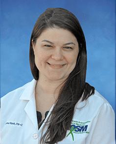 physician assistant at HROSM Nash