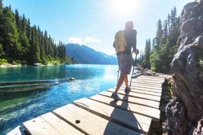 hiking and walking for health