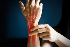 See physical therapy specialists for hand and wrist injuries.